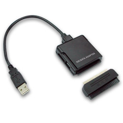 AS1200 USB 2.0 to SATA/IDE Combo Adapter